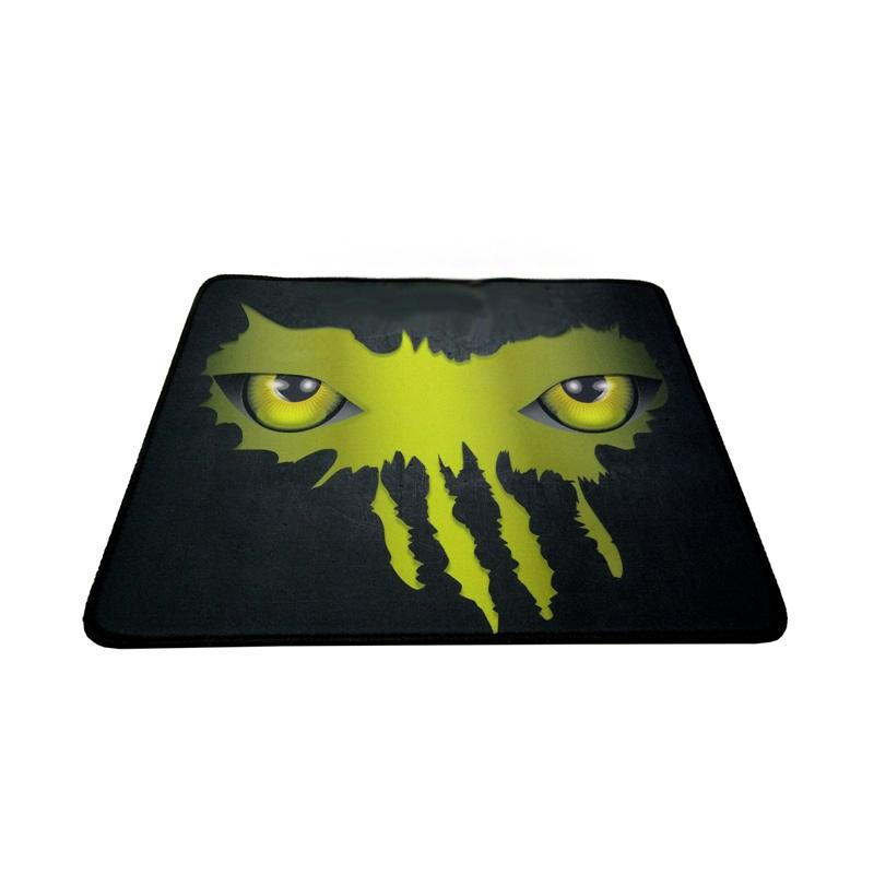 Warwolf Mata Gaming Mouse Pad - Kuning [Size M]