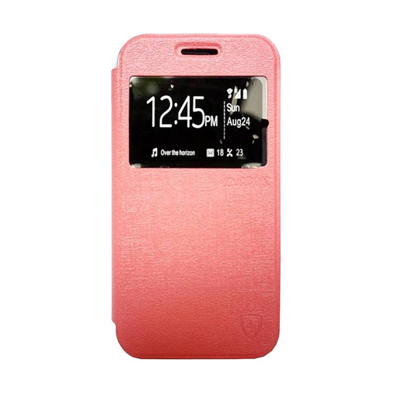 Zagbox Flip Cover Casing for Asus Zenfone 3 5.7 Deluxe - Pink