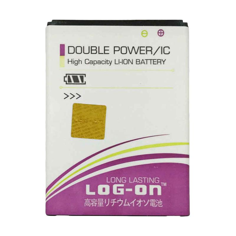 Log On Double Power Baterai for Evercoss A5V [2400 mAh]