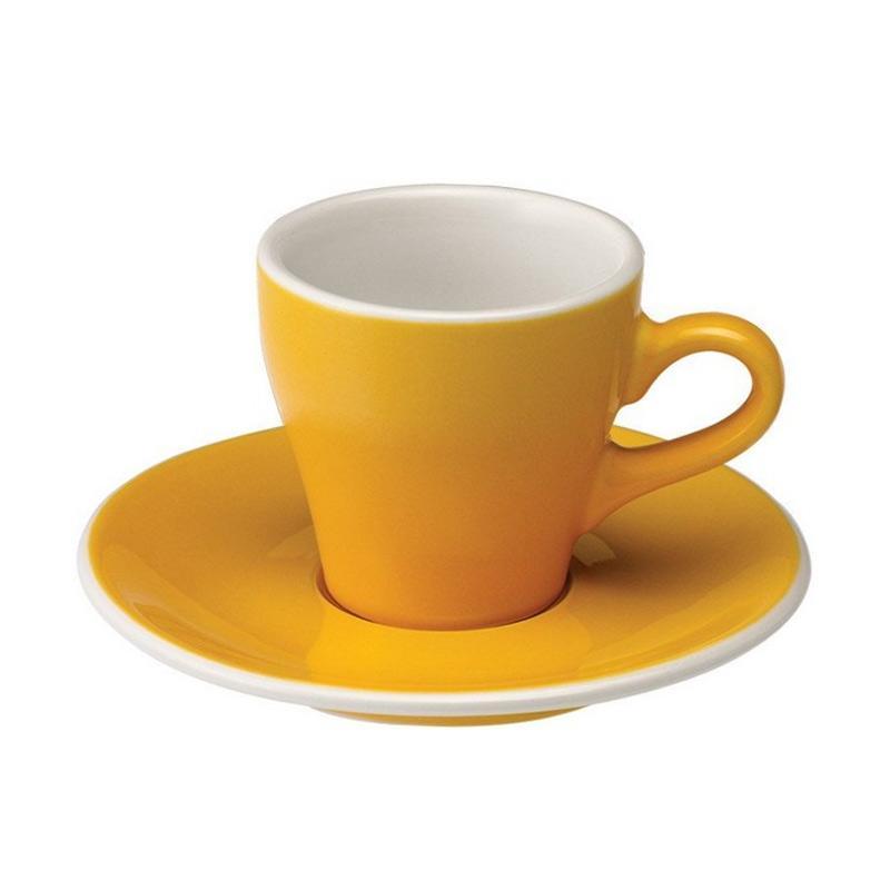 Loveramics Tulip Espresso Gelas - Yellow [80 mL]