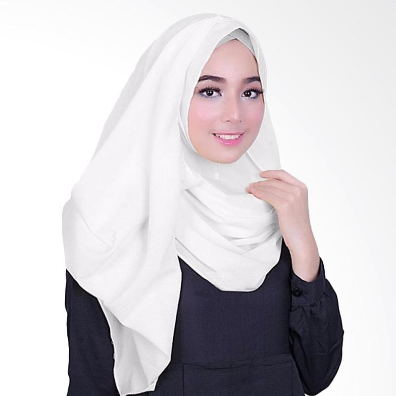 Milyarda Hijab Fusia Jilbab Instant - White