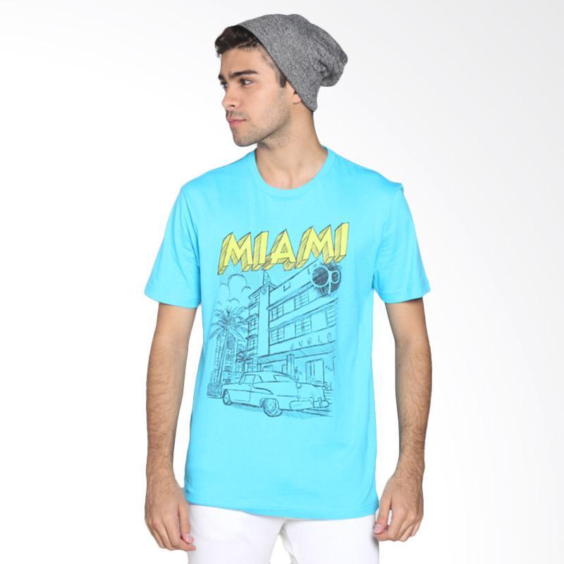 Ocean Pacific Fashion 03MTF93250 Mens T-Shirt - Blue