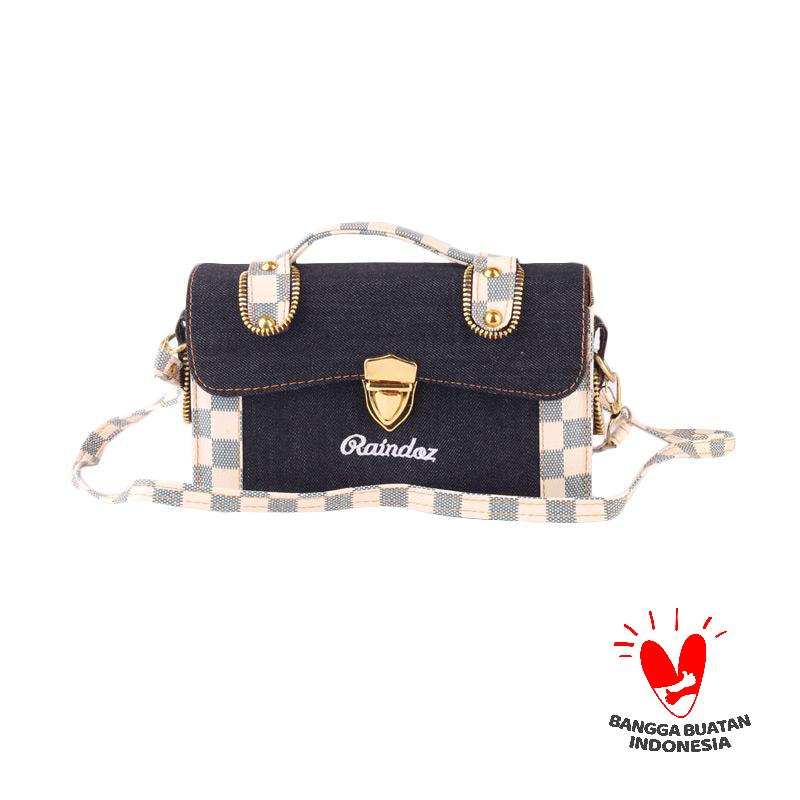 Raindoz Clutch Chess RSL 009 Sling Bag - Blue Denim