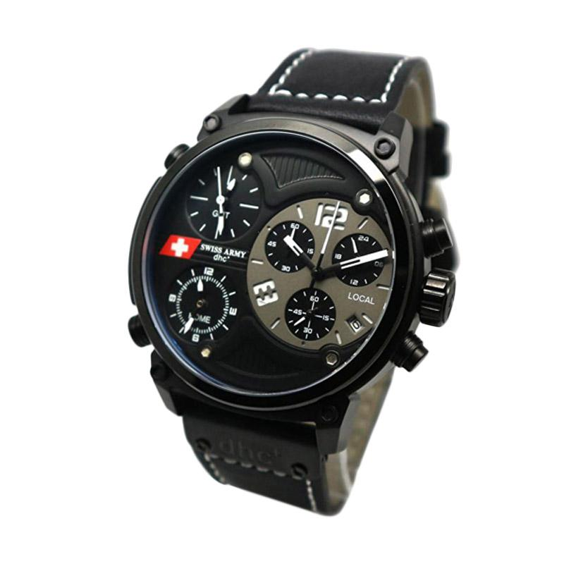 Swiss Army SA 4068 Jam Tangan Pria - Black Grey
