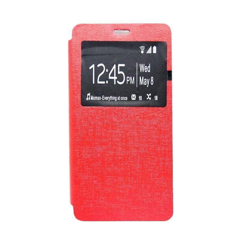 Ume Flip Cover Casing for Zenfone 3 5.5 Inch ZE552KL - Merah