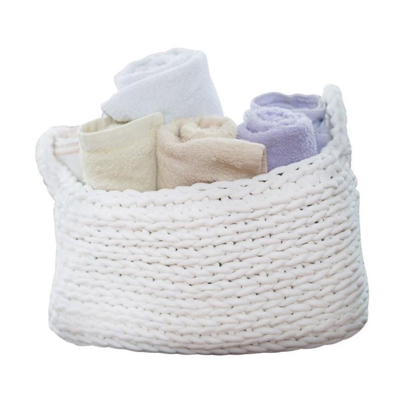 Bateeq Home Cotton Rope Rectangular Basket