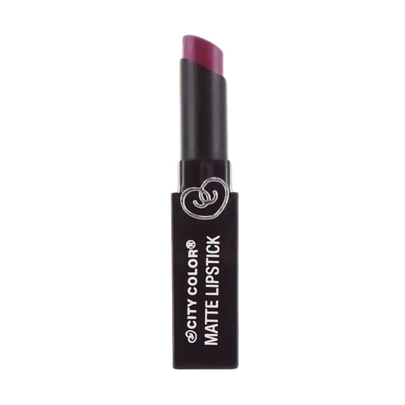 City Color Matte Lipstick - Boysen Berry