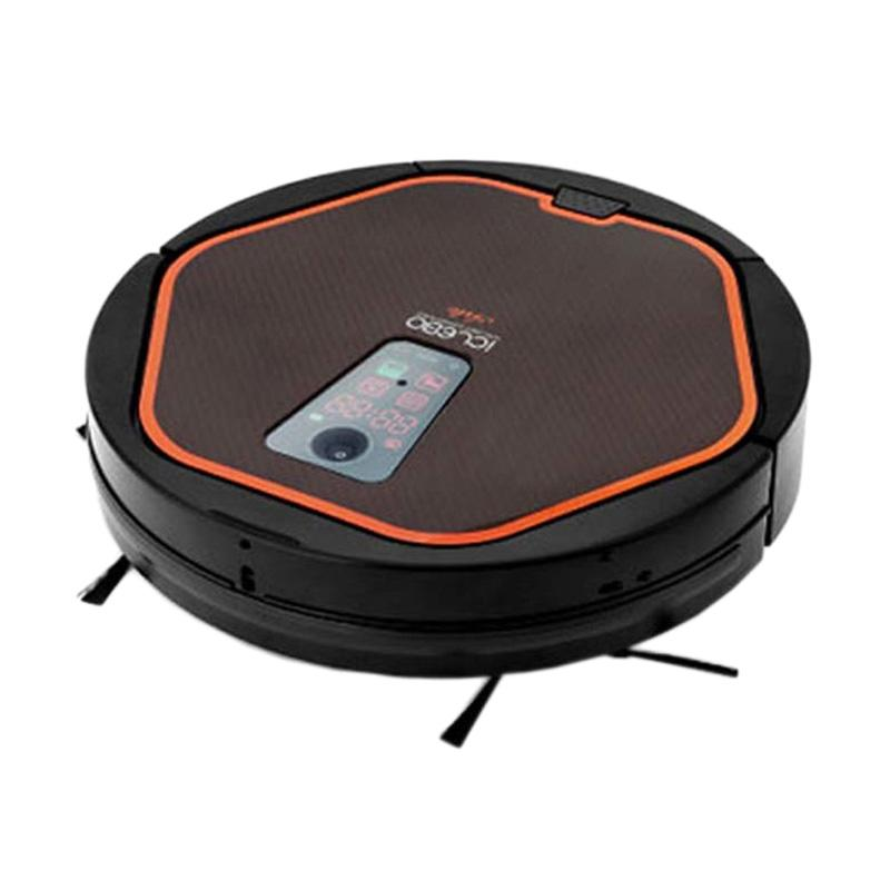 iClebo Robotic Arte Vacuum Cleaners- Hitam Orange