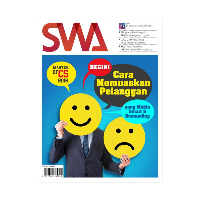 SWA Master Of CS 2016 Edisi 22-2016 27 Oktober-09 November 2016 Majalah