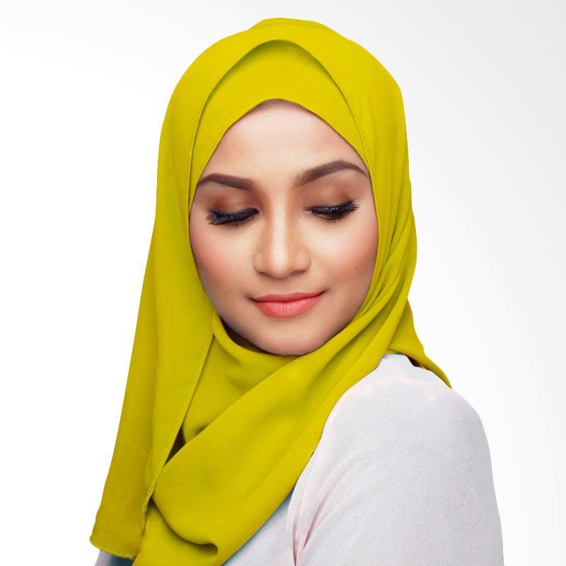 Aitana Hijab KD038 Kerudung Polos Segiempat - Kuning