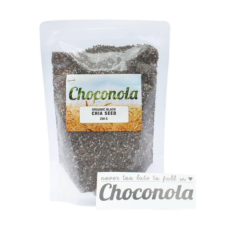 Choconola Organic Chia Seed Makanan Organik [250 g]