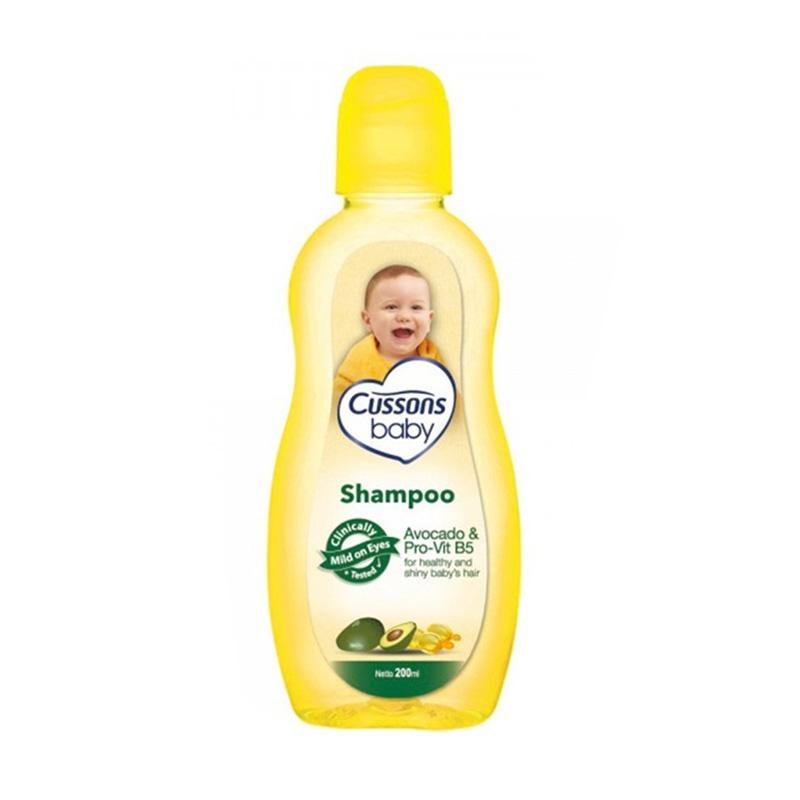 harga Cussons Baby Shampoo Avocado & ProVit B5 Shampo Bayi [200 mL/3-41-051] Blibli.com