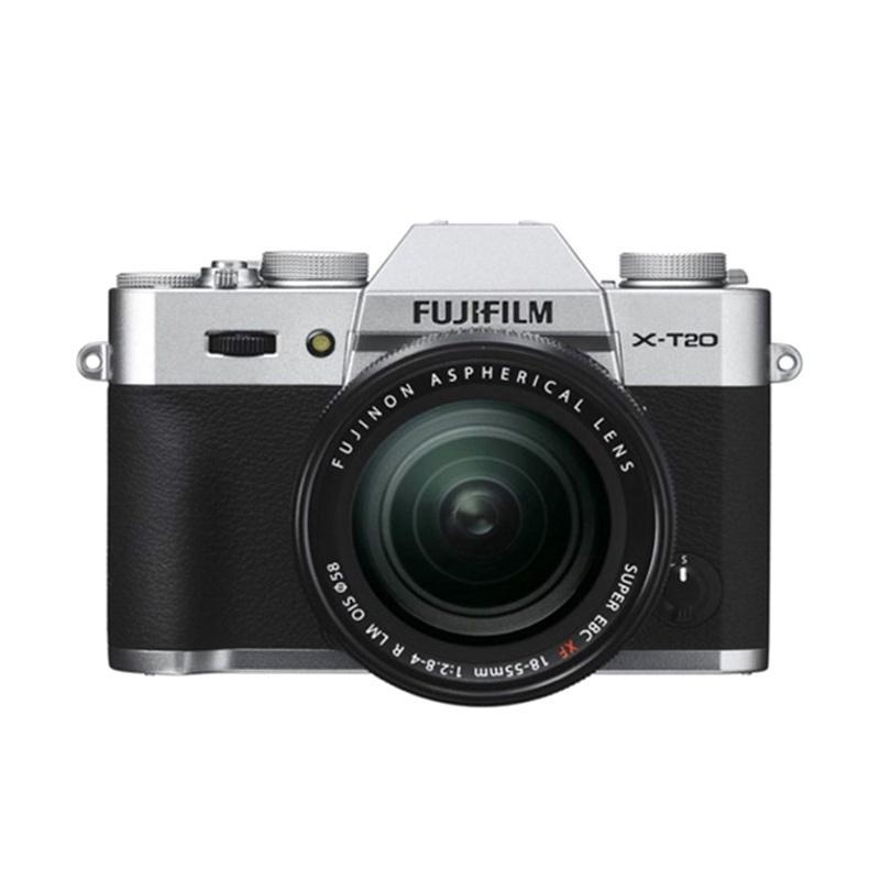 harga Fujifilm X-T20 18-55mm f 2.8-4 R LM OIS Kamera Mirrorless - Silver + Instax Share SP2 + Baterai NPW-126S + Sirui Sling Bag (BY CLAIM) Blibli.com