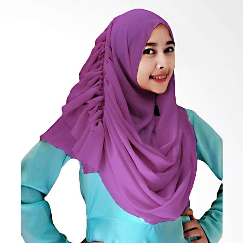Kus Group Hijab Cassanova Kerudung - Ungu