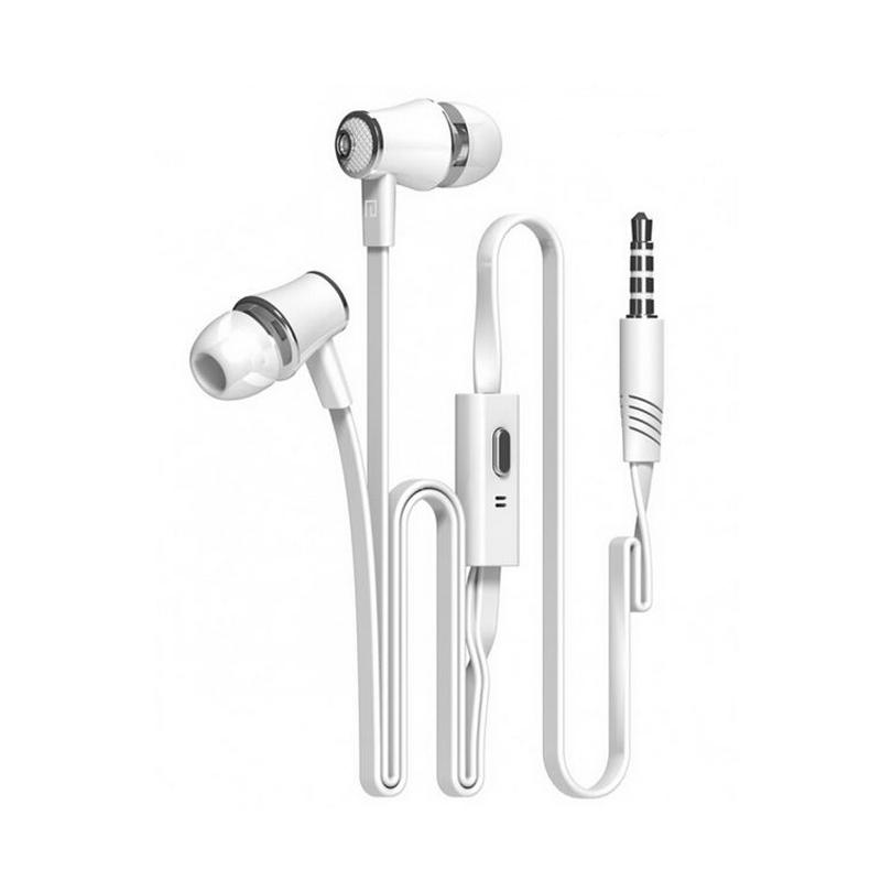 Langsdom JM21 Super Bass Headset with Microphone - White
