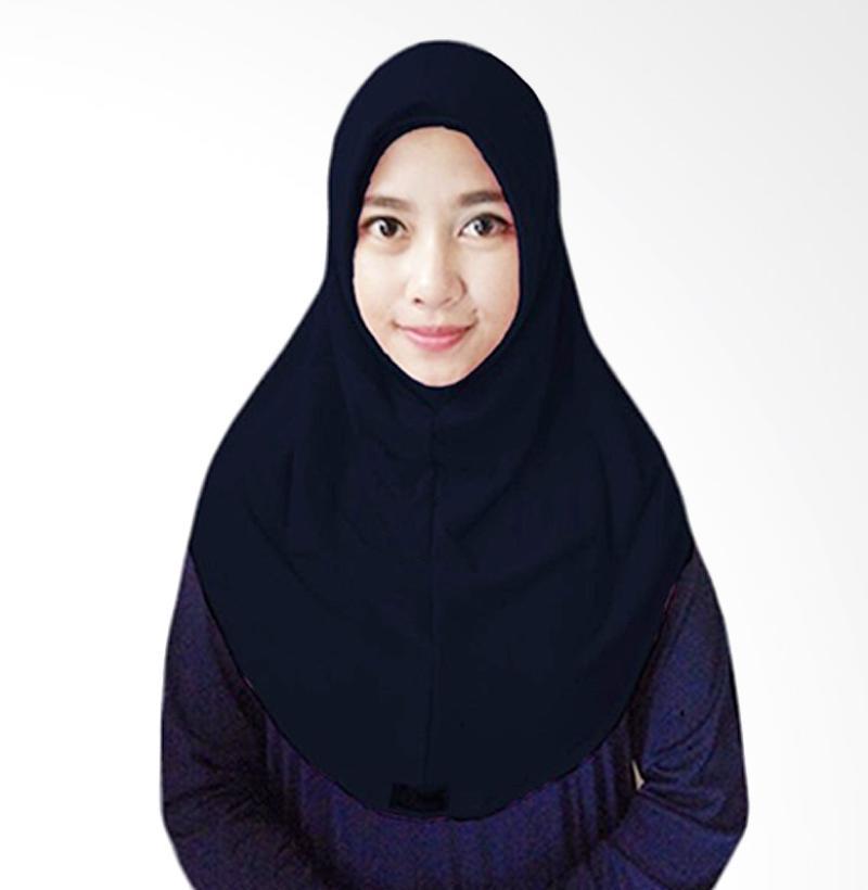 Milyarda Hijab Short Syria Kerudung - Biru Dongker