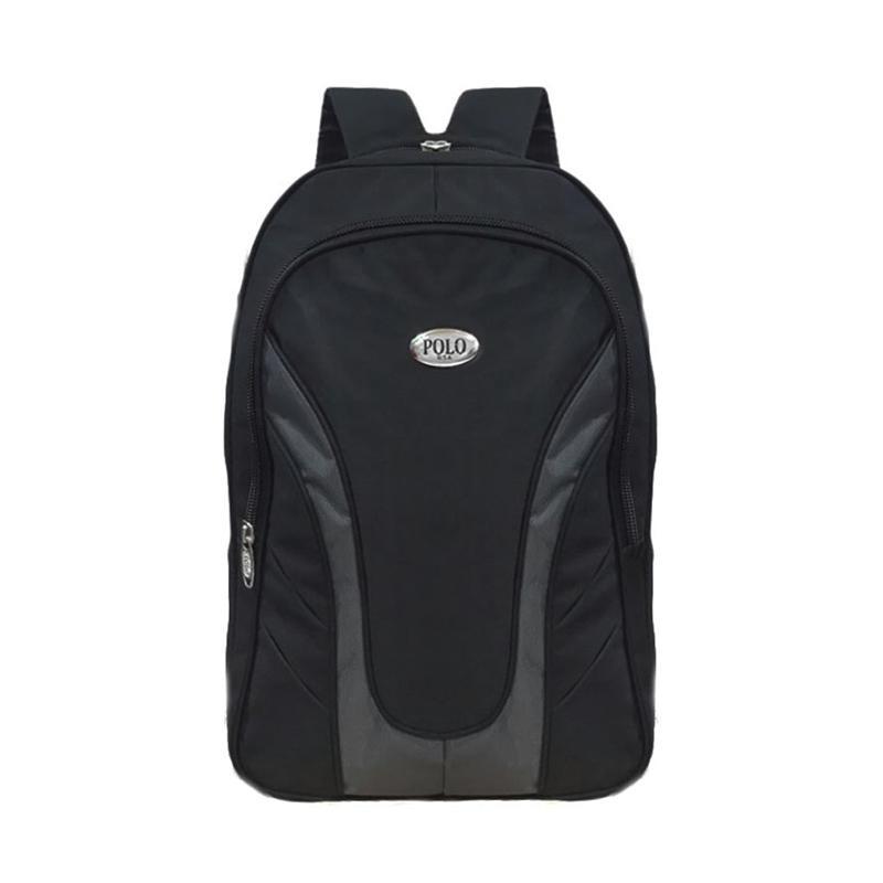 Polo USA Sparta Laptop Raincover Backpack - Hitam