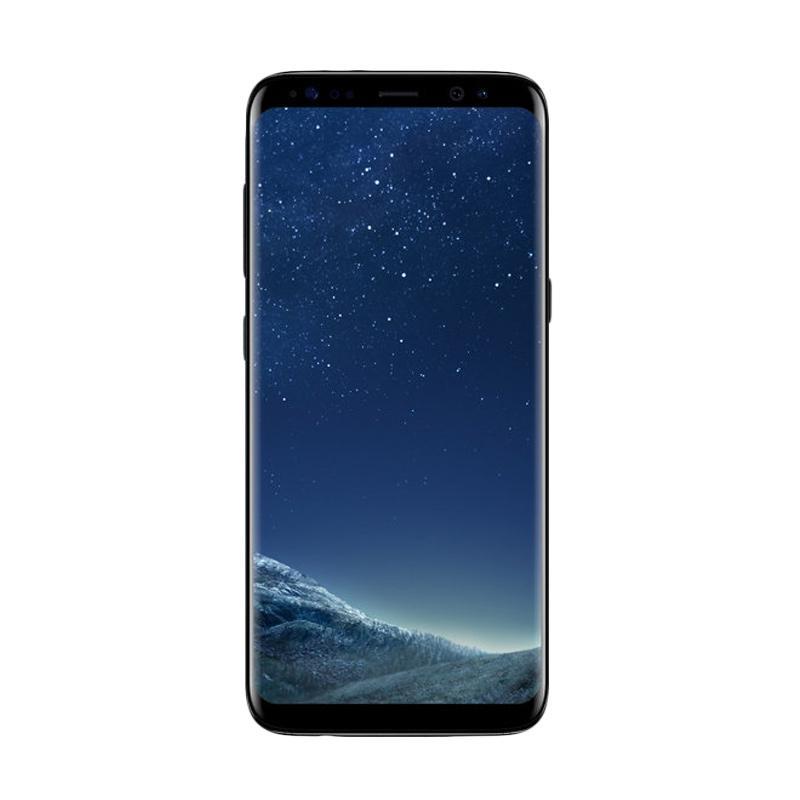 Samsung Galaxy S8 Plus Smartphone - Midnight Black [64GB/4GB/Dual/GARANSI RESMI SEIN]