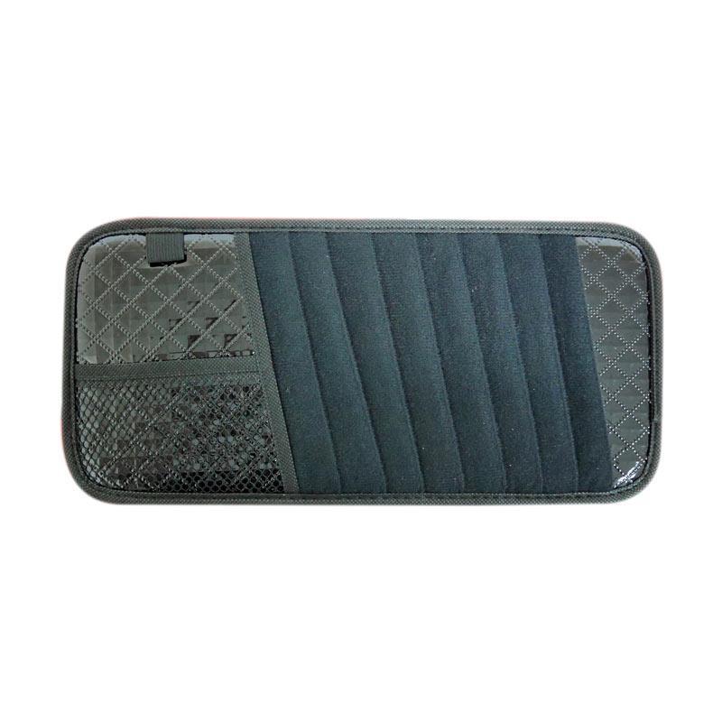 SIV Mine SV-1201 Sunvisor CD Pocket Organizer - Black