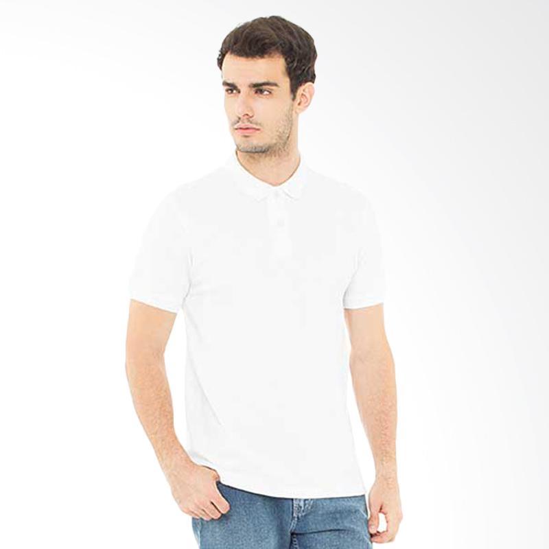 Svperbia T-Shirt The Essential Kaos Polo Pria - White