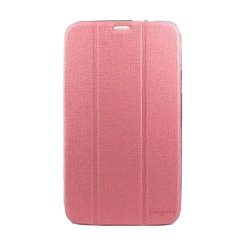 harga Ume Leather Flip Cover Casing for Lenovo Tab 2 A7-10 - Pink Blibli.com