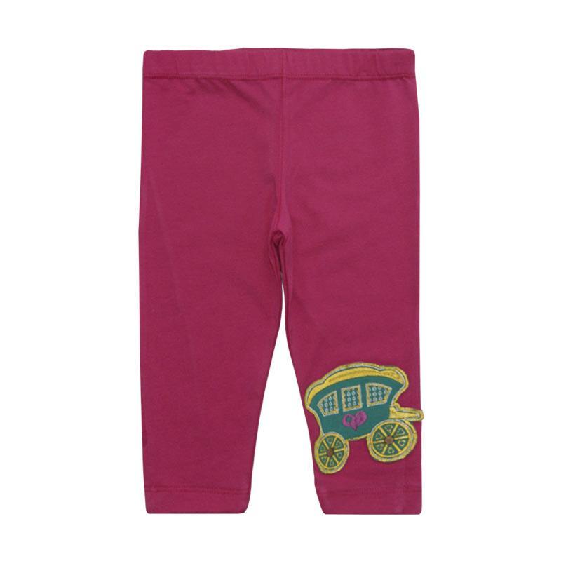 Bearhug Kereta Legging Bayi Perempuan - Pink Fanta