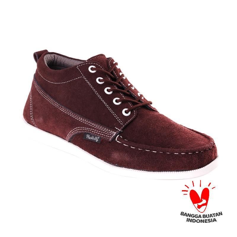 Blackkelly LFM 801 Chocoplate Sepatu Sneakers