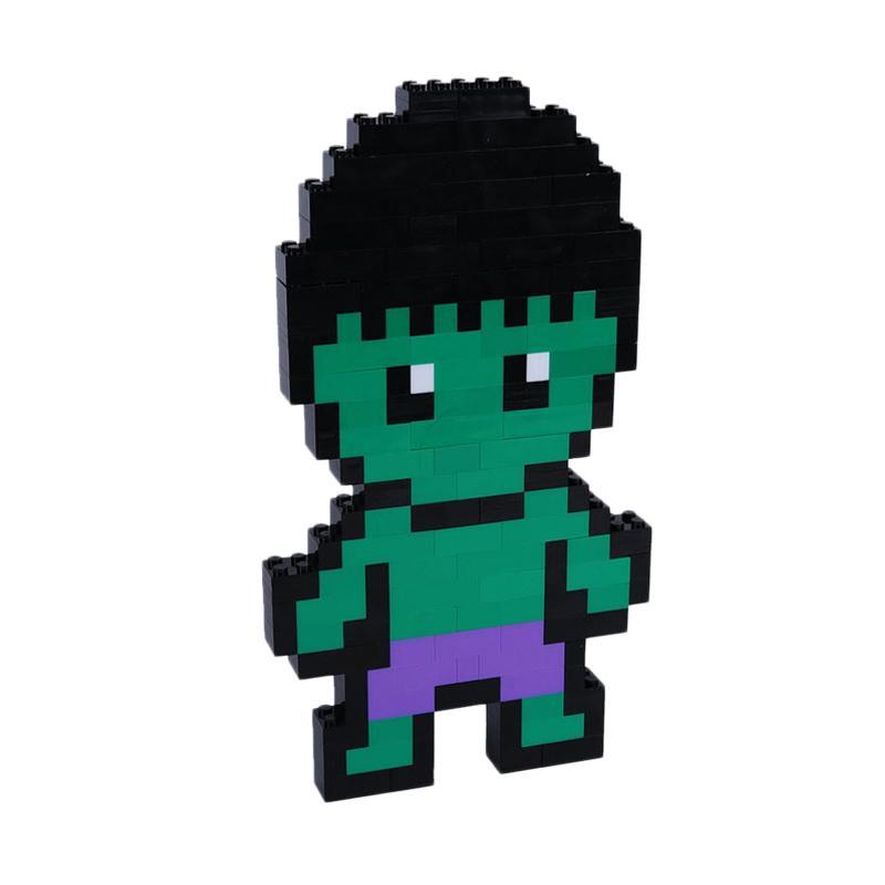 Chloe Babyshop Hulk Lego Mainan Anak - Green