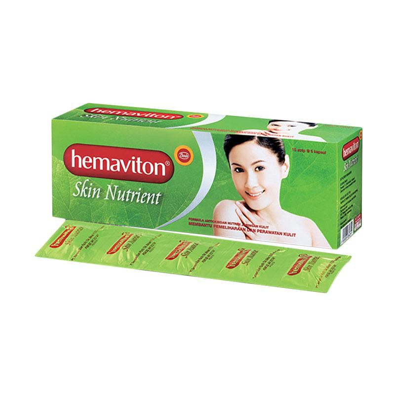 Hemaviton Skin Nutrient Strip Suplemen Kesehatan [50 kapsul]