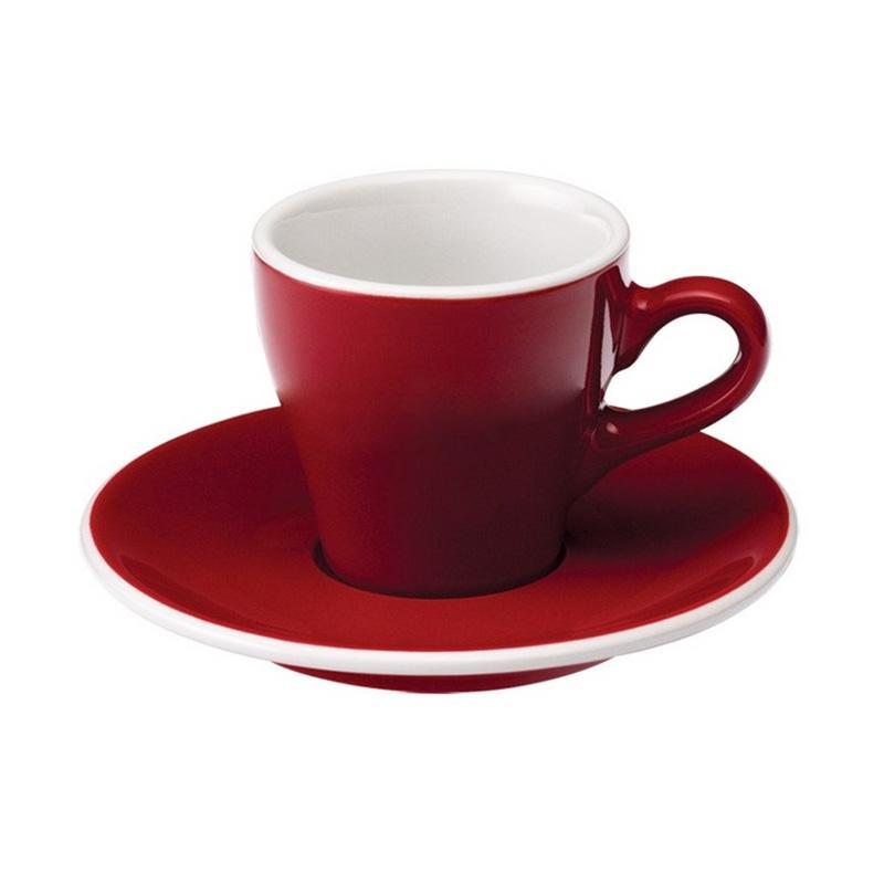 Loveramics Tulip Espresso Gelas - Red [80 mL]