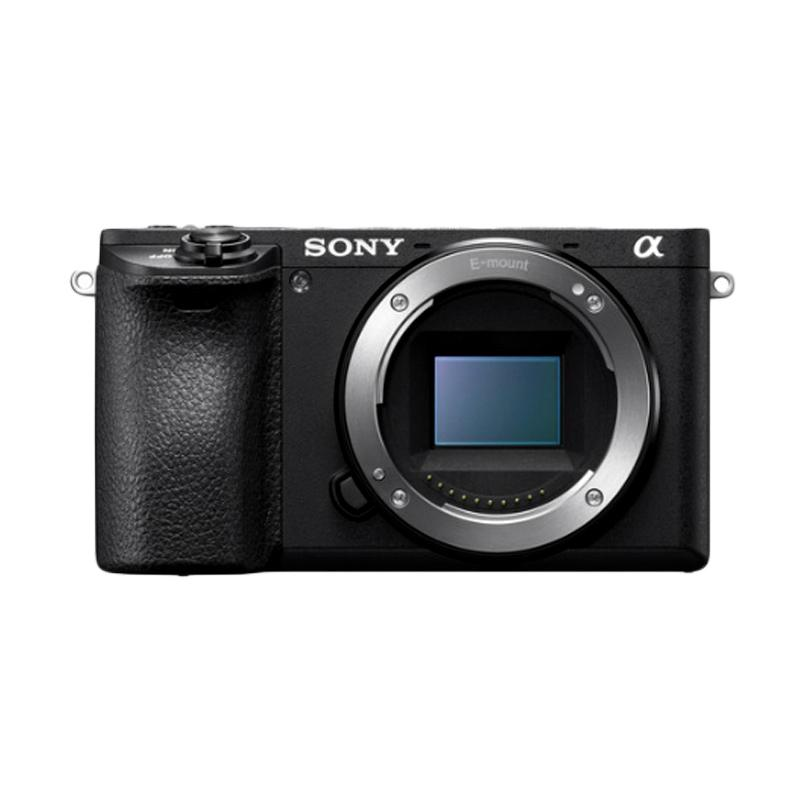 SONY Alpha A6500 Kamera Mirrorless - Black [Body Only]