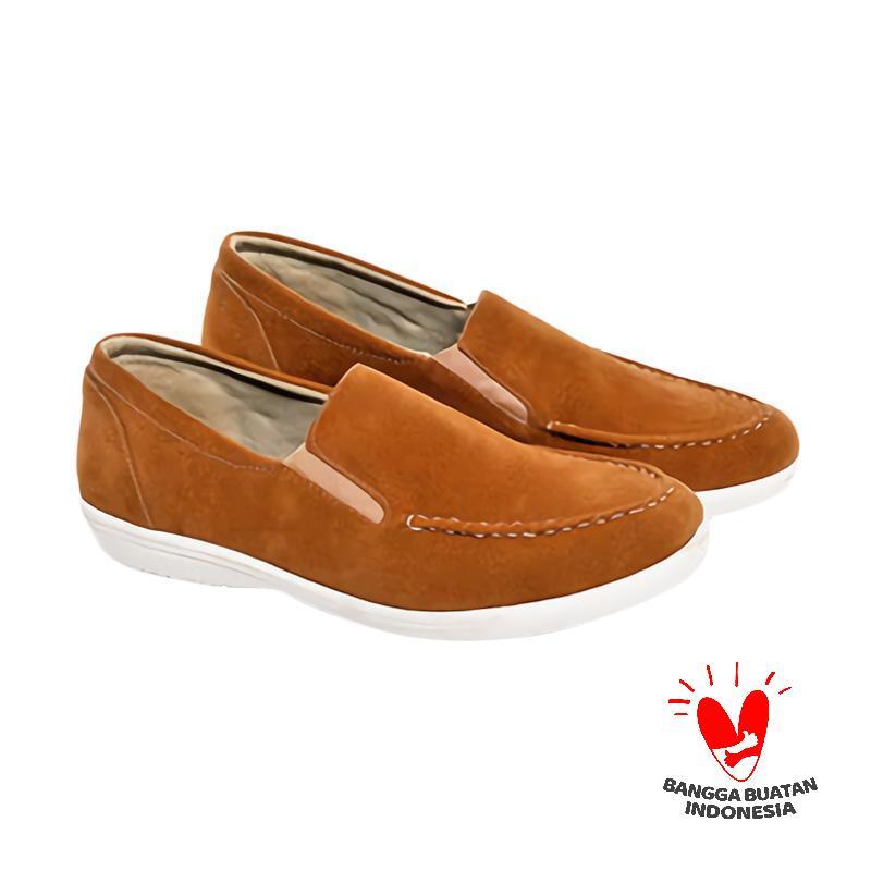 Spiccato SP 553.02 Formal Slip On Sepatu Pria - Tan