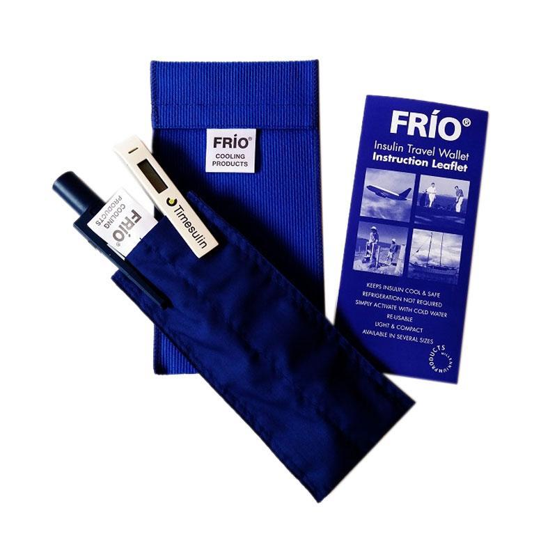 Frio Duo Wallet Dompet Pelindung Insulin - Biru