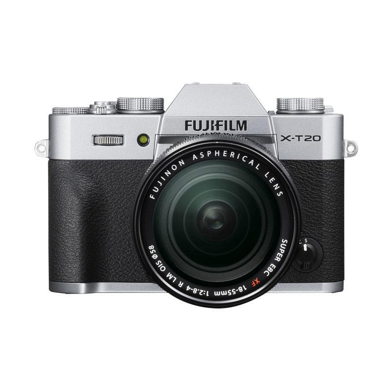 Fujifilm X-T20 18-55mm Kamera Mirrorless - Silver