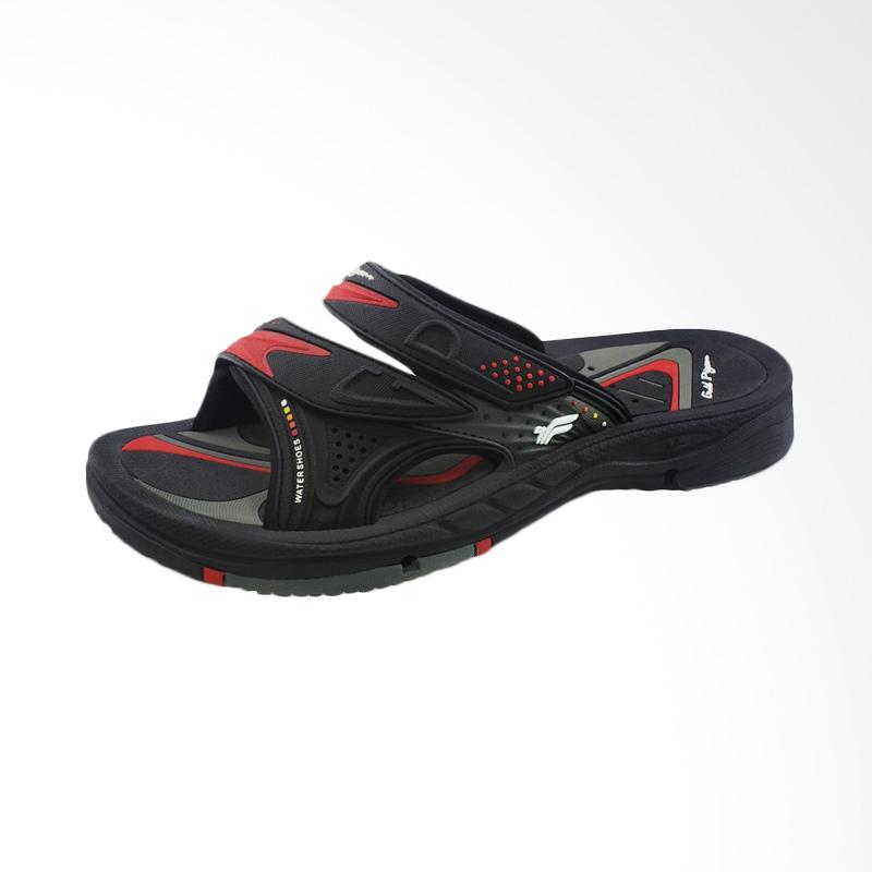 harga GP Gold Pigeon G7593-14 Sandal Pria Drainage - Black Red Blibli.com
