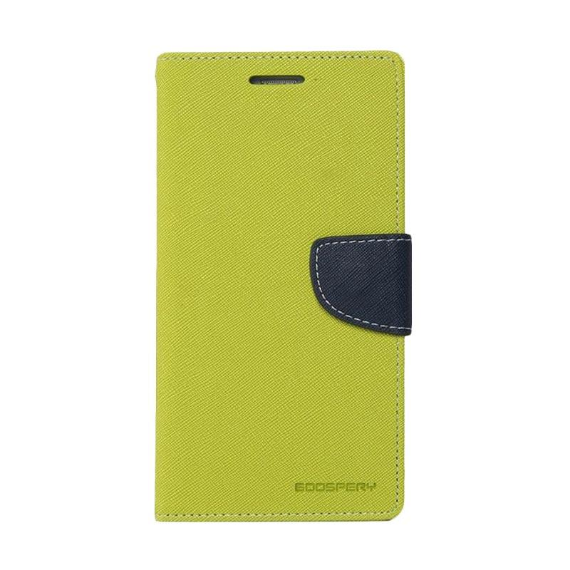 Mercury Fancy Diary Casing for iPhone 7 - Mint Biru Laut