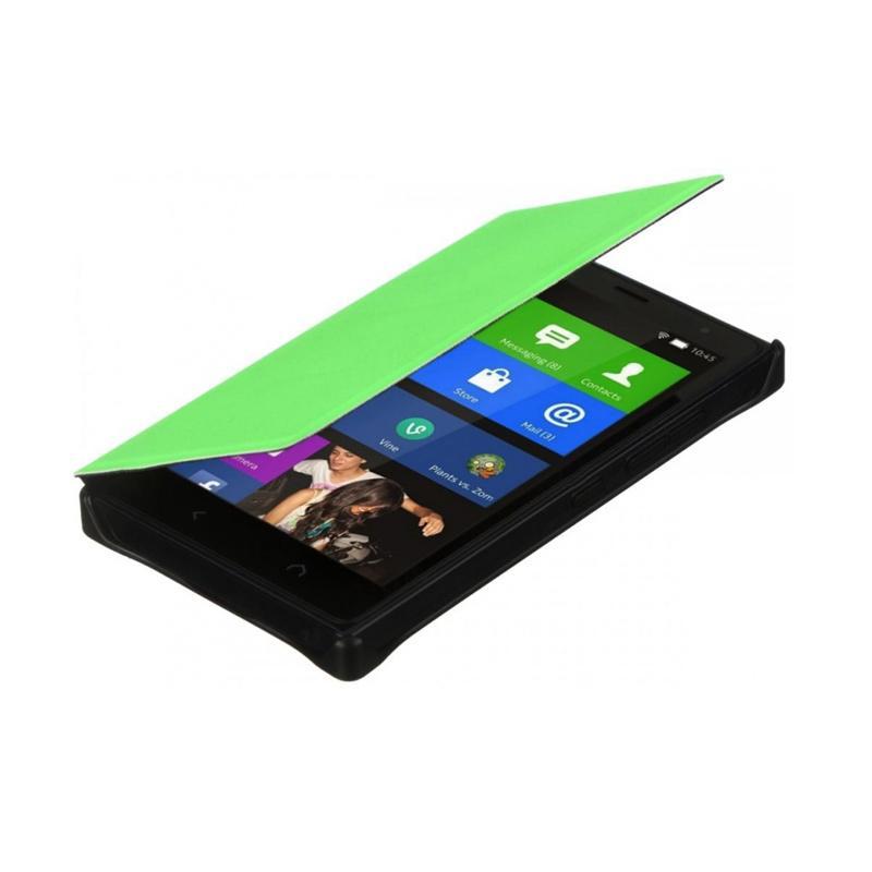 Nokia Original CP 633 Flip Cover for X2 Dual Sim - Green