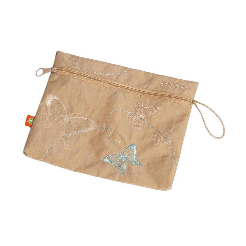 Okiedog Wundertute Butterfly Pouch Bag - Beige