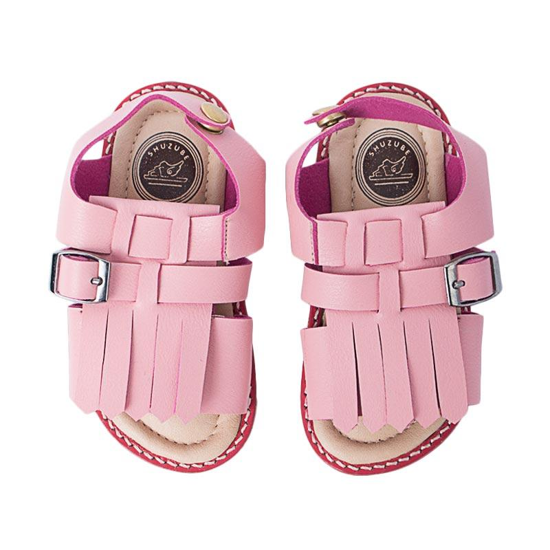Shuzube BS-03 Combination Strap Sandals - Pink