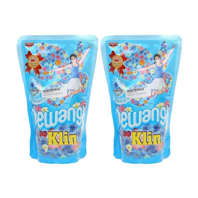 So Klin Pewangi Comfort Blue Pouch [900 mL x 2 Pcs] 1060274