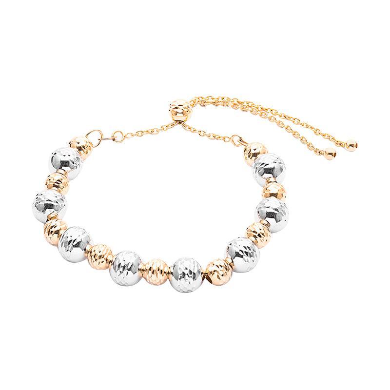 Medallion Gold Bracelet - Gelang Emas Kadar 75