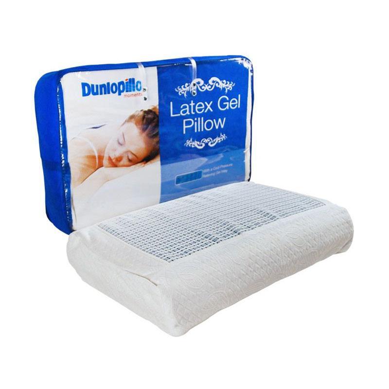Jual Super Deal - Dunlopillo Ergo Latex Gel Pillow - White Online - Harga & Kualitas Terjamin | Blibli.com