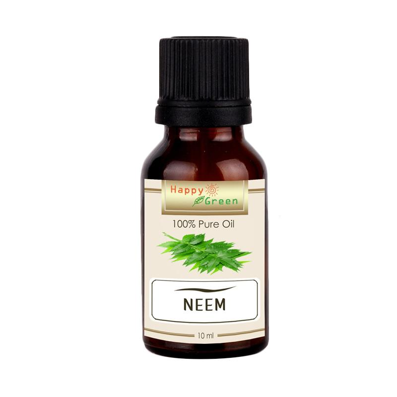 Happy Green Minyak Mimba Neem Oil [10 mL]