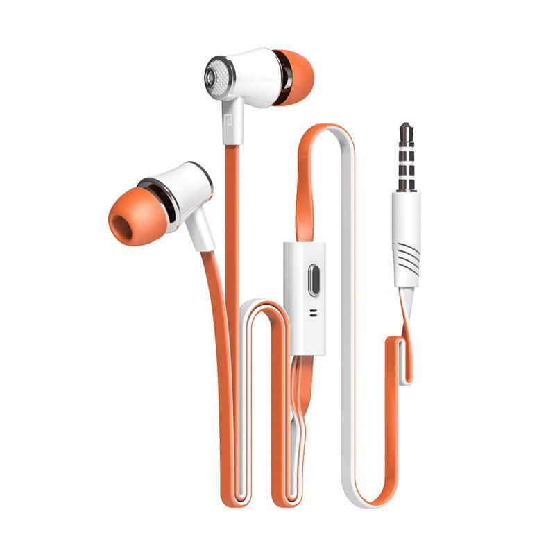 Langsdom Jm21 Earphone with Microphone - Orange