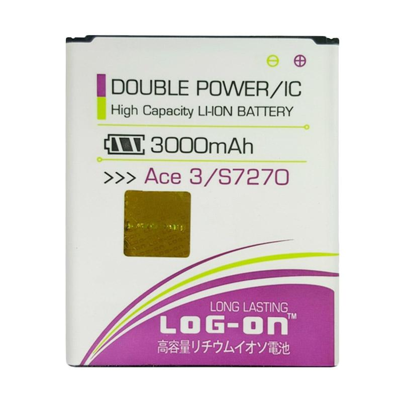 Log On Double Power Battery for Samsung ACE 3 [3000 mah]