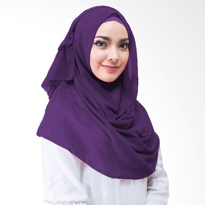 Milyarda Hijab Aime Kerudung Instan - Ungu