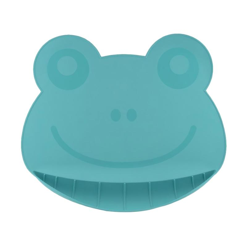Nuby Frog Silicone Placemat Peralatan Makan - Green 92910 / 115166