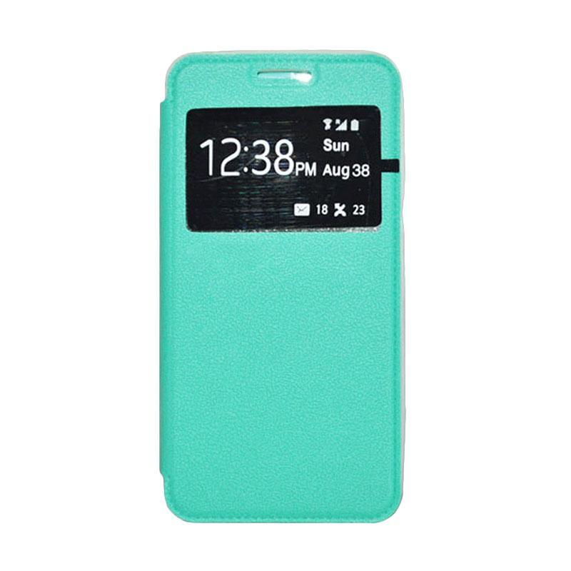 OEM Leather Book Cover Casing for Xiaomi Redmi - Green