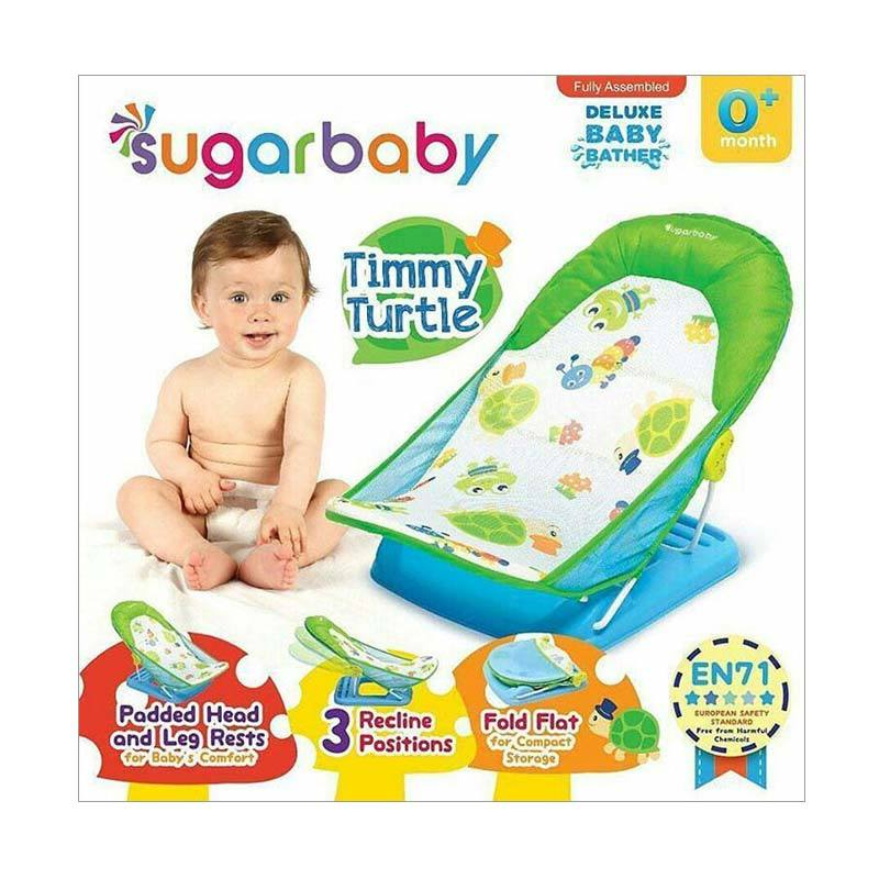Sugar Baby Timmy Turtle Deluxe Baby Bather