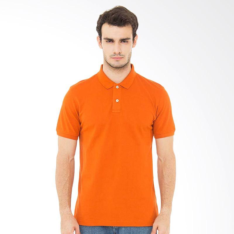 Svperbia T-Shirt The Essential Kaos Polo Pria - Orange Extra diskon 7% setiap hari Extra diskon 5% setiap hari Citibank – lebih hemat 10%